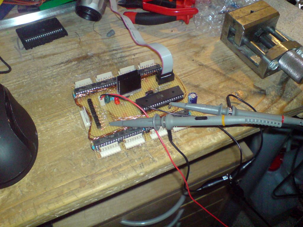 Leyanda Circuit Diagram Of 8x8x8 Rgb Led Cube Control Unit